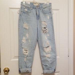 Size 3 Garage Boyfriend Jeans